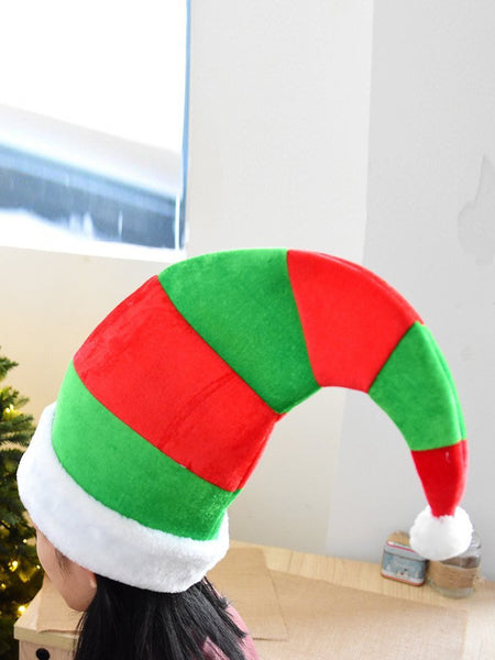 Xmas Colorful Hat Elf hat Ornament Christmas party Decoration Hat