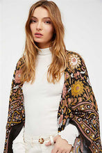 Load image into Gallery viewer, Long Beach Summer Women Floral Shawl Cardigan
