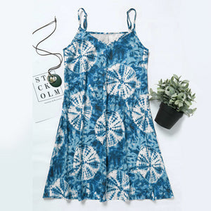 Women Fashionable Off Shoulder Printed Casual Short Mini Dress