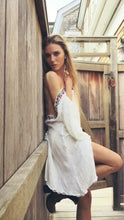 Load image into Gallery viewer, Boho Backless Hippie Loose Summer Beach Mini Dress