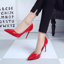 Load image into Gallery viewer, Women Shoes High Heels Women Pumps Heels Shoes Pumps Sexy Pointed Toe High Heels Red Wedding Shoes for Women