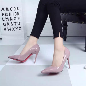 Women Shoes High Heels Women Pumps Heels Shoes Pumps Sexy Pointed Toe High Heels Red Wedding Shoes for Women