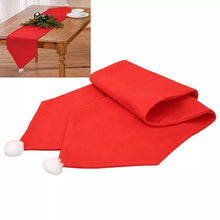 Load image into Gallery viewer, 176X34CM Christmas Table Runner Table Mat Set Cotton Tablecloth