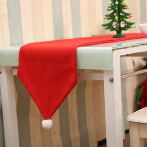 176X34CM Christmas Table Runner Table Mat Set Cotton Tablecloth