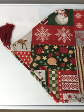 Load image into Gallery viewer, 2017 Christmas table flag Santa Claus deer Cloth Covers hot Christmas decoration supply, Tablecloths xmas, new year decoration