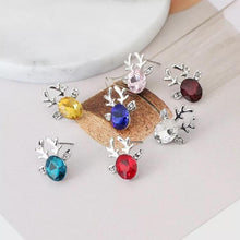 Load image into Gallery viewer, Luxury Women Earrings Crystal Deer Ear Stud Sweet Casual Party Earrings