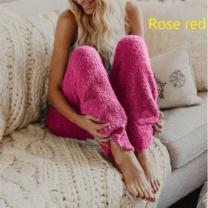 Loose Causal Plush Long Pants Autumn And Winter New Warm Pants