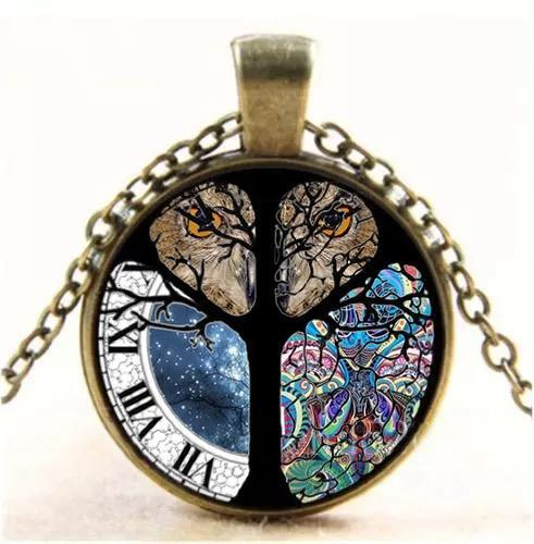 Vintage The Tree of Life Necklaces Accessories - 3