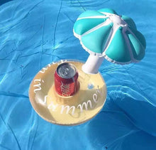 Load image into Gallery viewer, Inflatable Flower Floating Cup Holder Beer Drink Cup Sitting Mobile Phone Seat Swimming Toy