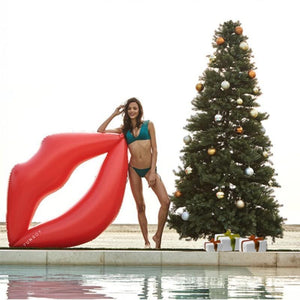 Red Lips INFLATABLE FLOATING ENVIRONMENTAL PROTECTION PVC FLOATING Swimming Toy
