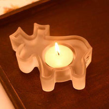Load image into Gallery viewer, 2 kinds glass candle holder Xmas   Christmas party