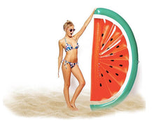 Load image into Gallery viewer, Half Watermelon inflatable floating Swimming Toy