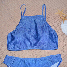 Load image into Gallery viewer, Separate Jean Bikini Swimming Suit