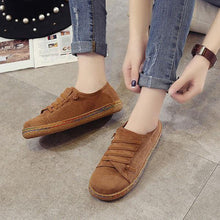 Load image into Gallery viewer, Suede Slip On Soft Loafers Lazy Casual Flat Shoes For Women