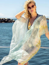 Load image into Gallery viewer, Summer Women's Chiffon Beach Sunscreen Shirt Pullover Jacket Chiffon Shawl