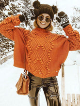 Load image into Gallery viewer, Loose Solid Color Knitting Sweater Tops