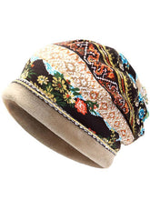 Load image into Gallery viewer, Bohemia Floral With Plush Hat Accessories