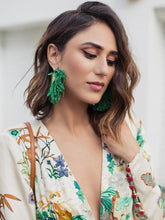 Load image into Gallery viewer, Sexy Boho Deep V Neck Floral Printed Long Sleeves Dress