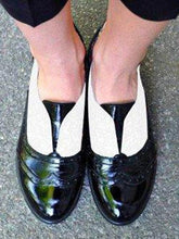 Load image into Gallery viewer, Low Top British Style Loafers Flats