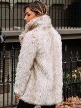 Load image into Gallery viewer, Fluffy Solid Colors Faux Fur Coat Outwears