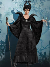 Load image into Gallery viewer, Sleeping Curse Dark Witch Devil Queen Costume Halloween Dress