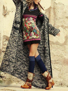 Autumn Knit Loose Casual Cardigan Coat