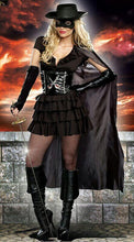 Load image into Gallery viewer, Halloween Cosplay Adult Costume Vampire Witch Queen Dress