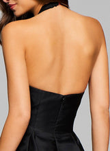 Load image into Gallery viewer, Fashion Halter V Neck Sleeveless Backless Cocktail Dress