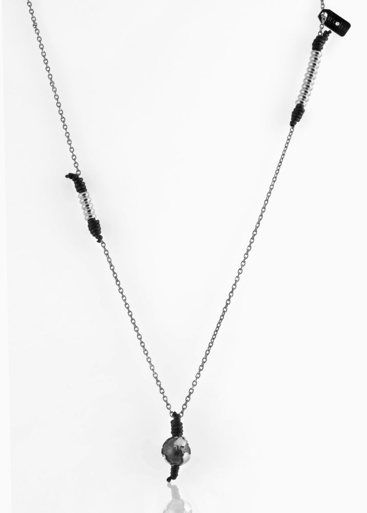 Collana Black Silver Black Edition 1.2 - Nubu-Jewels