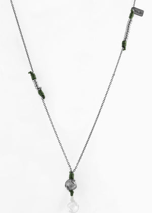 Collana Black Silver Greeny Deep 1.2 - Nubu-store