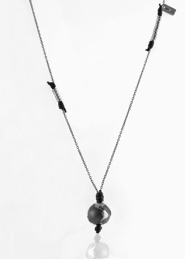Collana Black Silver Black Edition 2.0 - Nubu-Jewels
