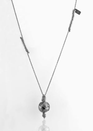 Collana Black Silver GreyIce 2.0 - Nubu-Jewels