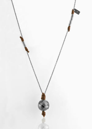 Collana Black Silver Terra di Siena 2.0 - Nubu-Jewels