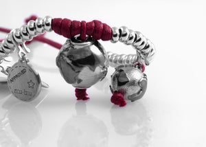 Bracciale Eclipse Bordeaux Matt 1.2 - Nubu-Jewels