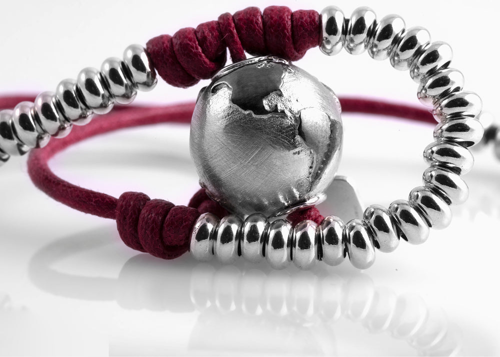 Bracciale Eclipse Bordeaux Matt 1.6 - Nubu-Jewels
