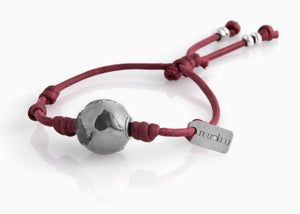 Bracciale Huge World Bordeaux Matt 1.6 - Nubu-Jewels