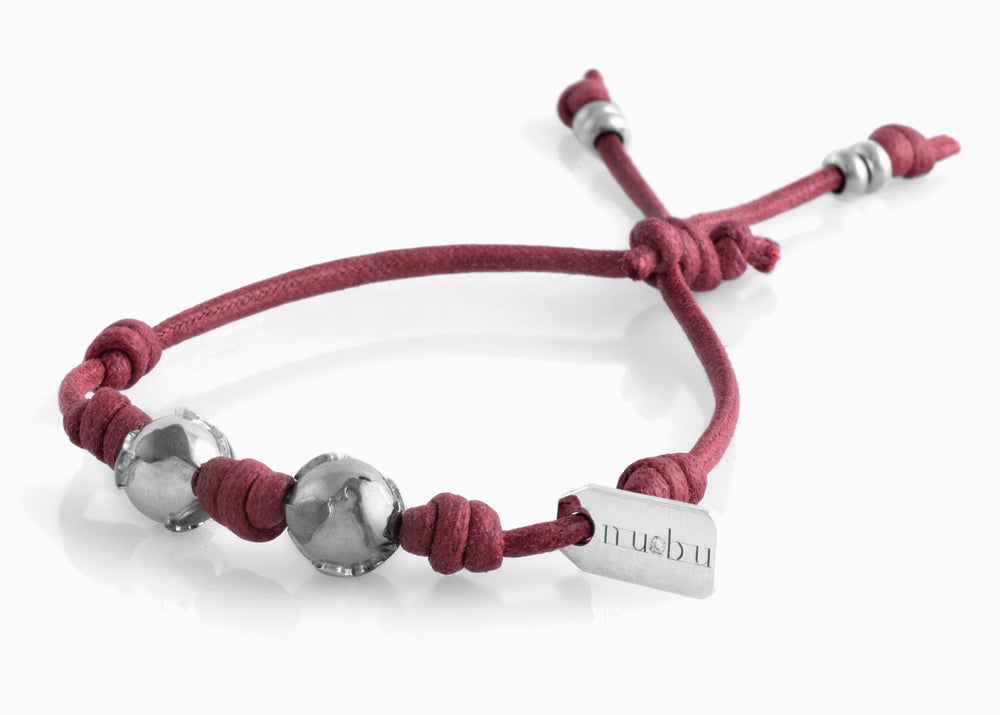 Bracciale Two Worlds Bordeaux Matt 1.0