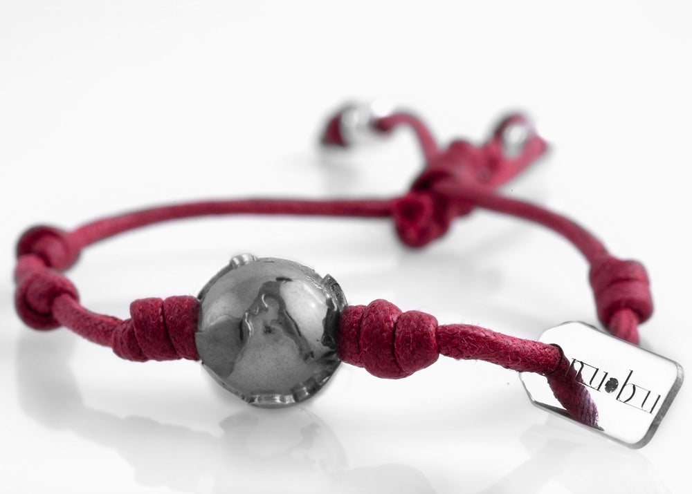 Bracciale One World Bordeaux Matt 1.2 - Nubu-store