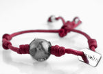 Bracciale One World Bordeaux Matt 1.2 - Nubu-Jewels