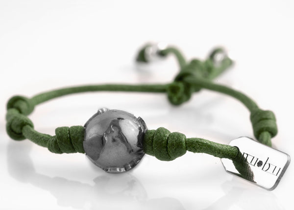 Bracciale One World Greeny Deep 1.2 - Nubu-Jewels