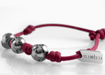 Bracciale Three Worlds Bordeaux Matt 1.0