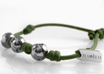 Bracciale Three Worlds Greeny Deep 1.0 - Nubu-Jewels