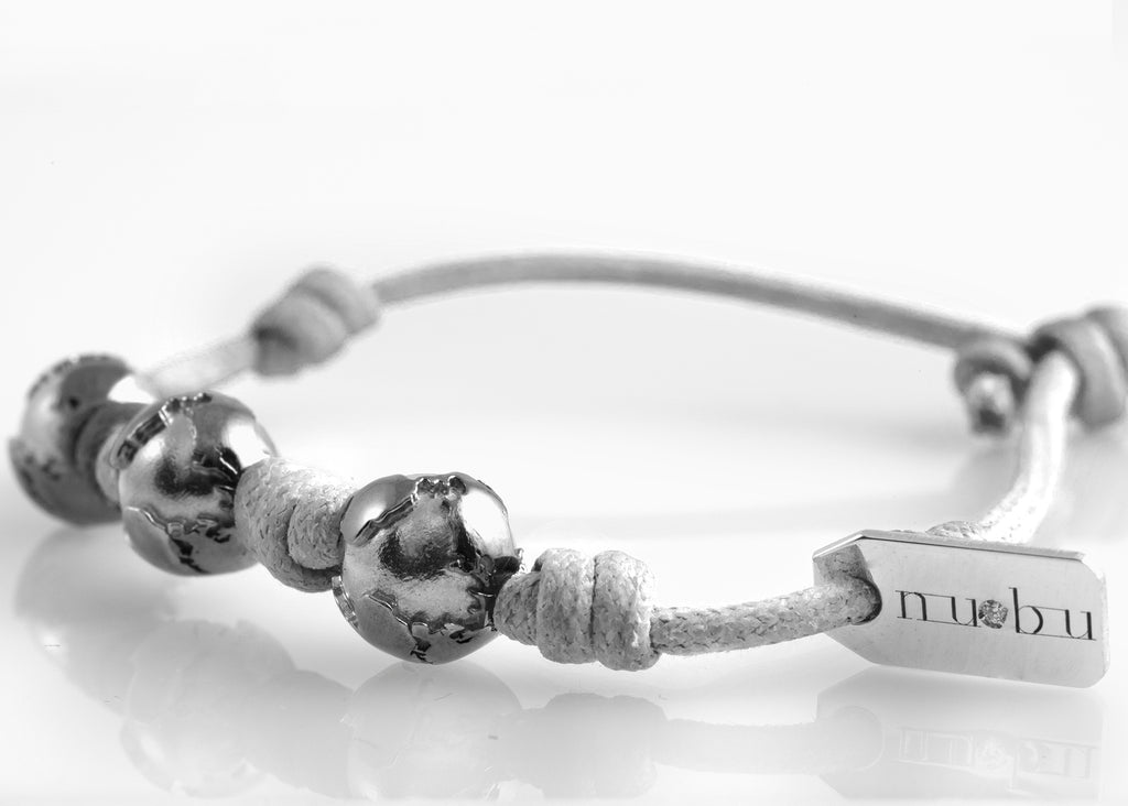 Bracciale Three Worlds GreyIce Edition 1.0 - Nubu-Jewels