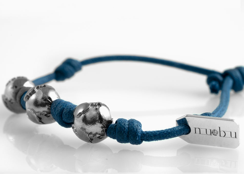 Bracciale Three Worlds True Blue 1.0 - Nubu-store