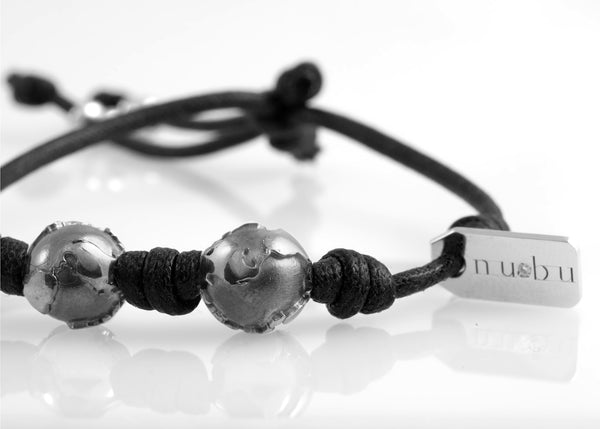 Bracciale Two Worlds Black Edition 1.0 - Nubu-Jewels