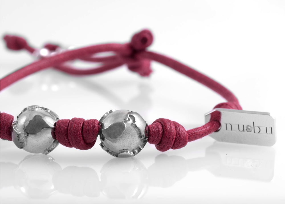 Bracciale Two Worlds Bordeaux Matt 1.0 - Nubu-store