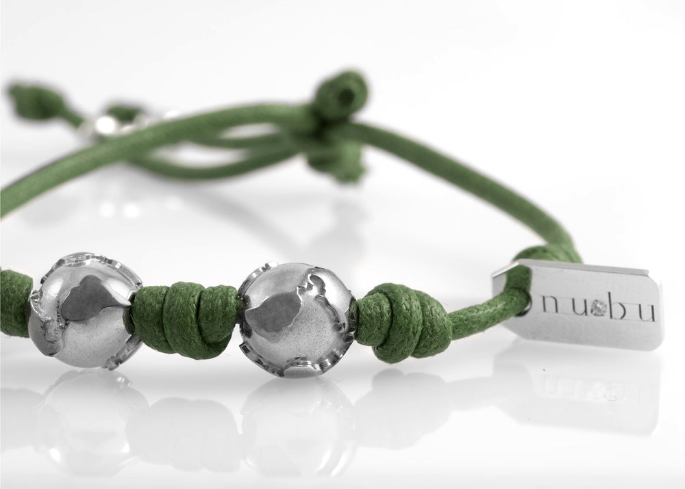 Bracciale Two Worlds Greeny Deep 1.0 - Nubu-Jewels