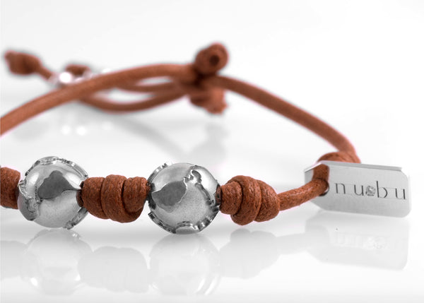 Bracciale Two Worlds Terra di Siena 1.0 - Nubu-Jewels