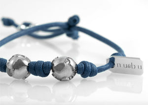 Bracciale Two Worlds True Blue 1.0 - Nubu-Jewels