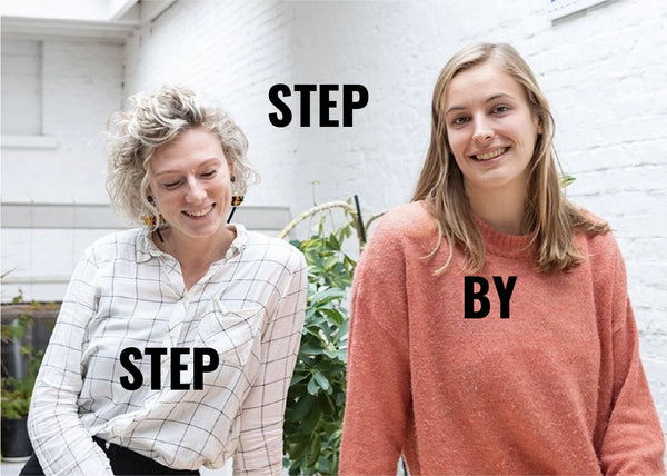 STEP BY STEP: LINDE & TILLE FROM REDOPAPERS